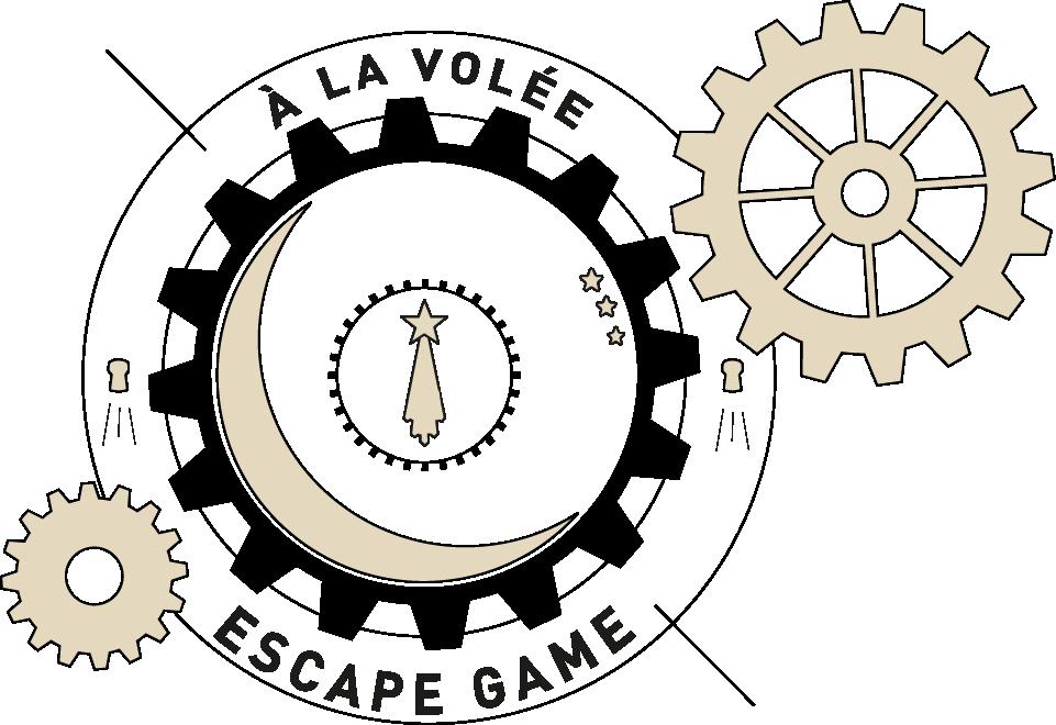 univers logo escape game à la volée Champagne Julien Chopin à Monthelon près d'Épernay